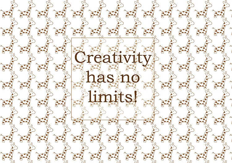 creativity_has_no_limits