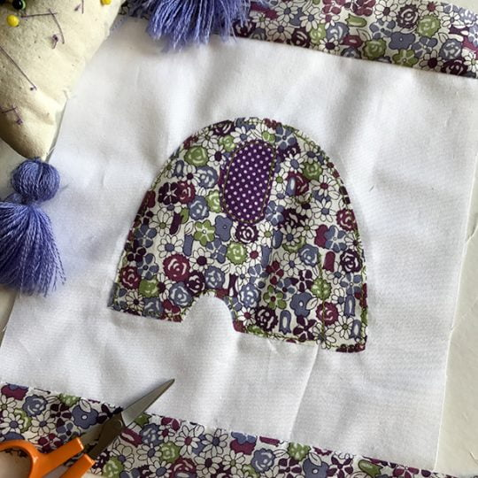 Embroidery templates: Thinking outside the box