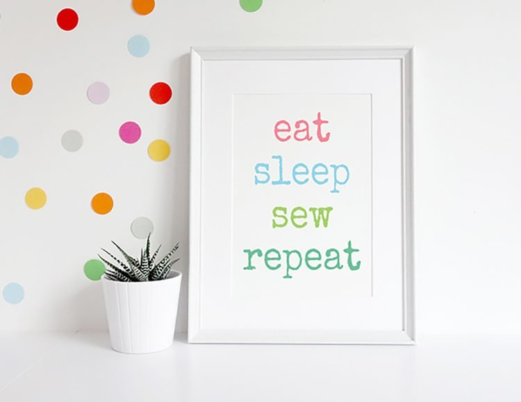 eat_sleep_white_frame
