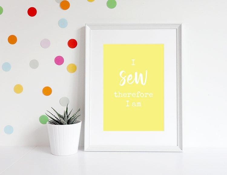 I_sew_yellow_print